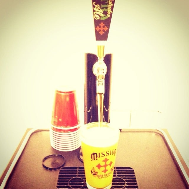 Mission beer is always on tap at Bar Zesty