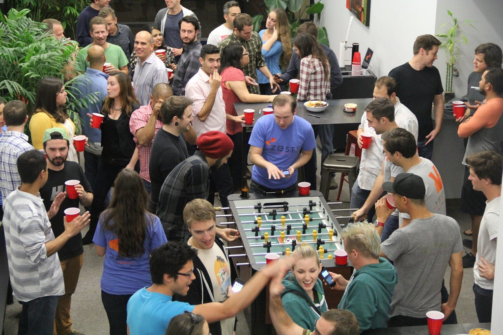 Tech Foosball at Variable Action in downtown San Diego